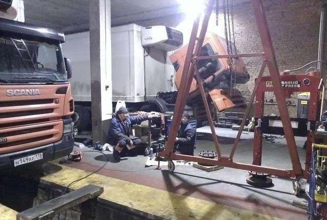 Ремонт тягачей, грузовиков в Санкт-Петербурге